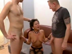 German MILF creampie added..
