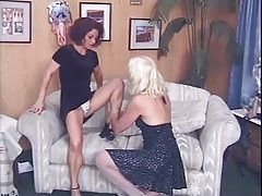 2 Mature Ladies - lick,..