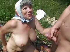 granny mother country bbw