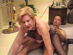 Busty middle-aged whore..