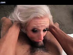 Tranny whore gets brashness..