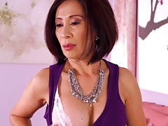 61y Asian Granny Fucked In..