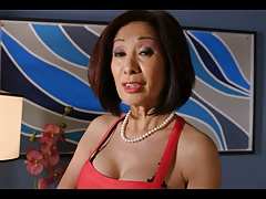 Asian Granny Fucked Here The..