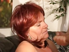 The man horny redhair mature..