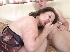 Mature mom added to wife..