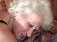 full-grown granny pussy poked