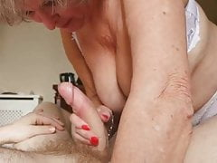 Dirty Granny loves huge At..